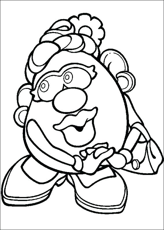 potato coloring page at getcolorings  free printable
