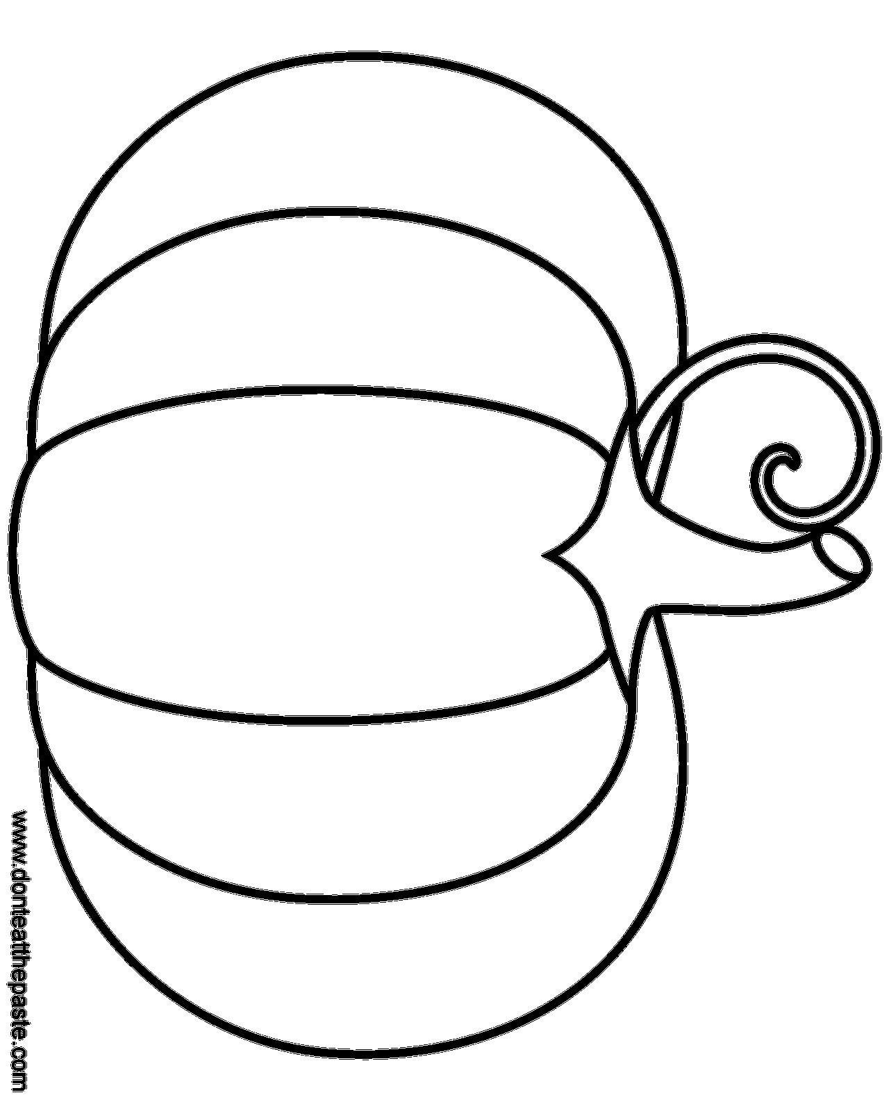 Pumpkin Coloring Pages At Getcolorings