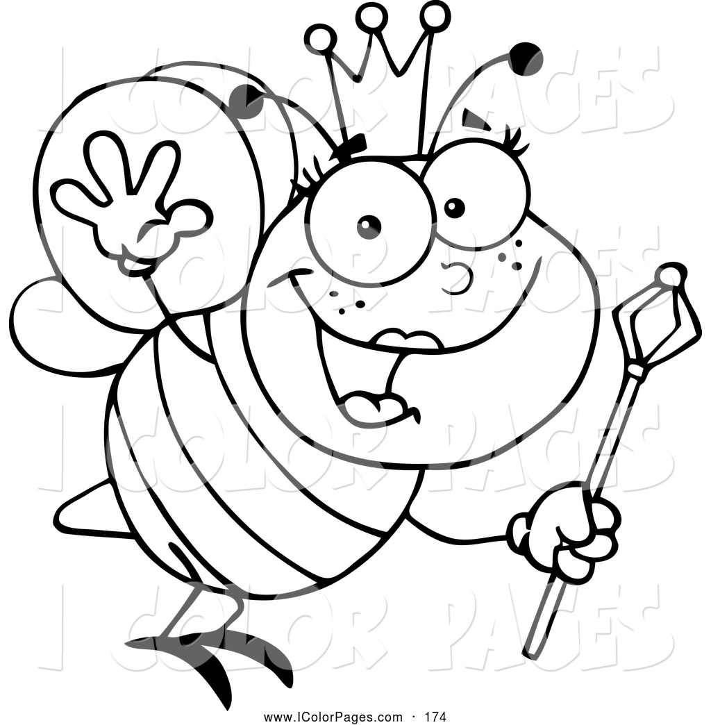 Queen Bee Coloring Page At Getcolorings