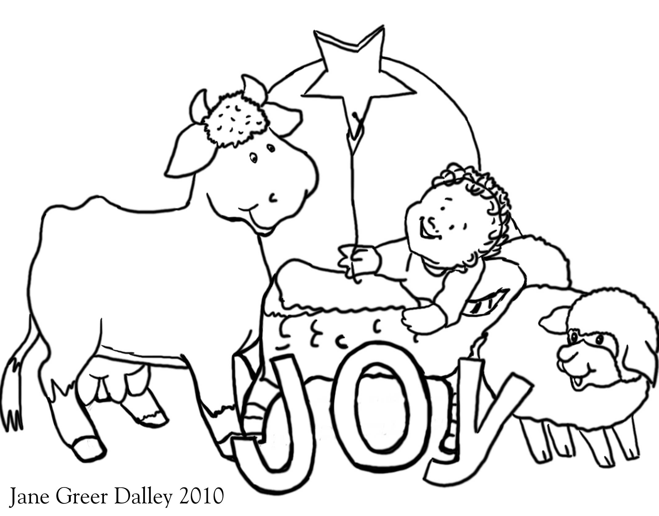 Religious Christmas Coloring Pages At Getcolorings