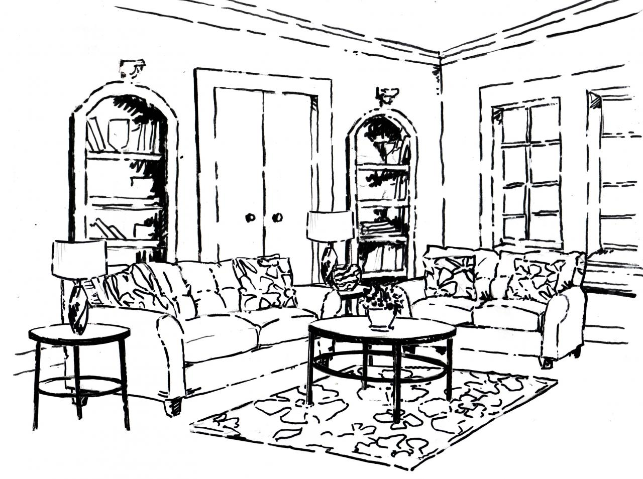Room Coloring Pages At Getcolorings