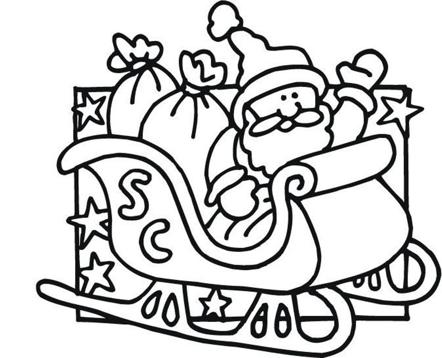 Santa Claus Coloring Pages Free Printables At Getcolorings
