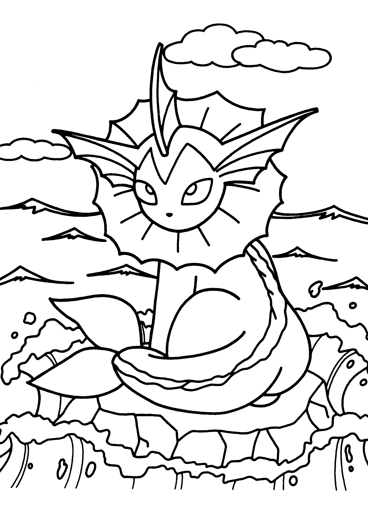 Sceptile Coloring Page At Getcolorings