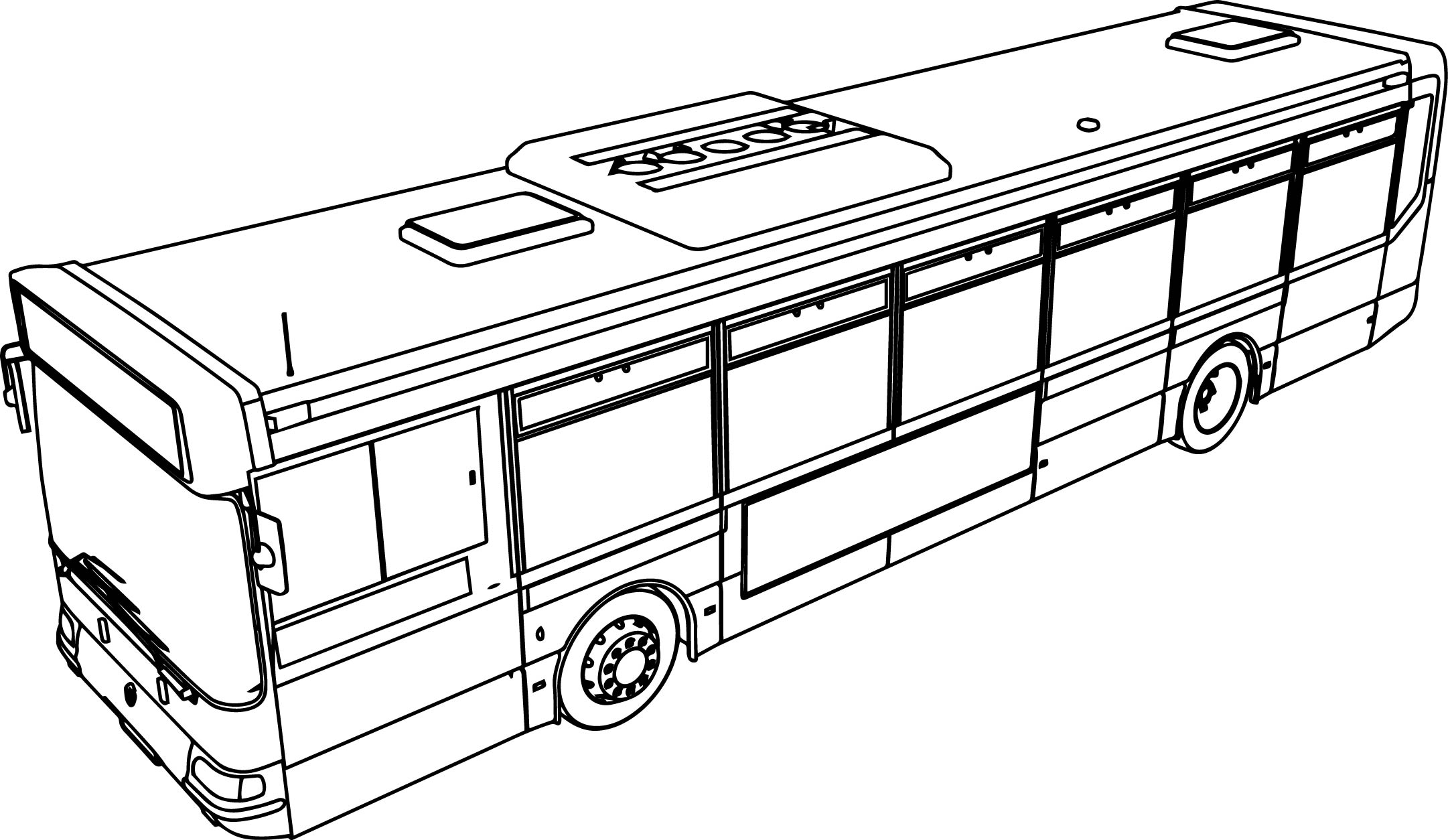 School Bus Coloring Page At Getcolorings