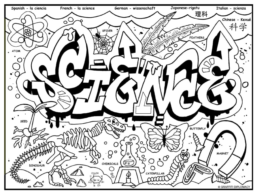 Science Lab Coloring Pages At Getcolorings