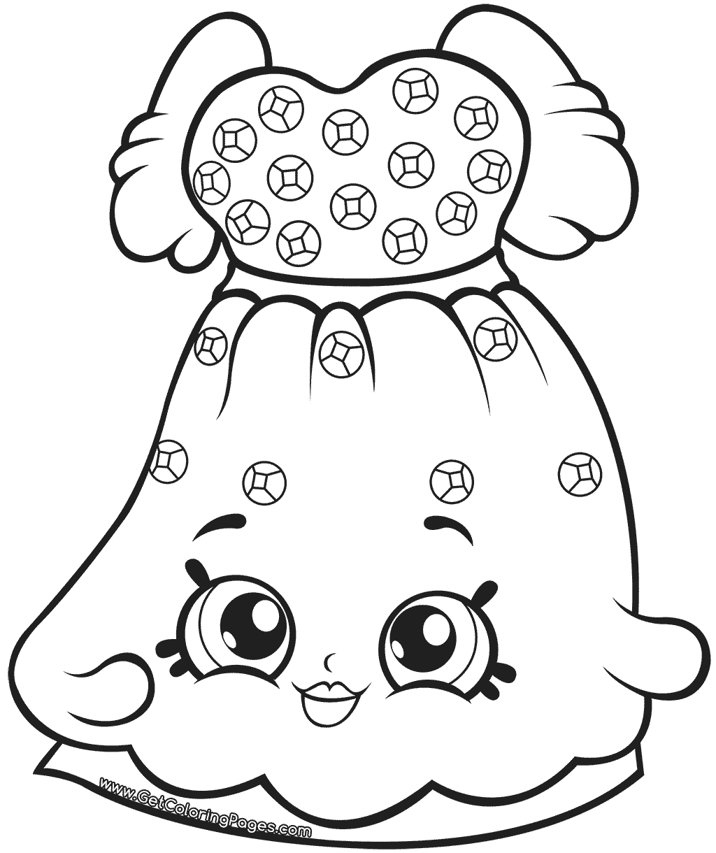 Shopkins Limited Edition Coloring Pages At Getcolorings