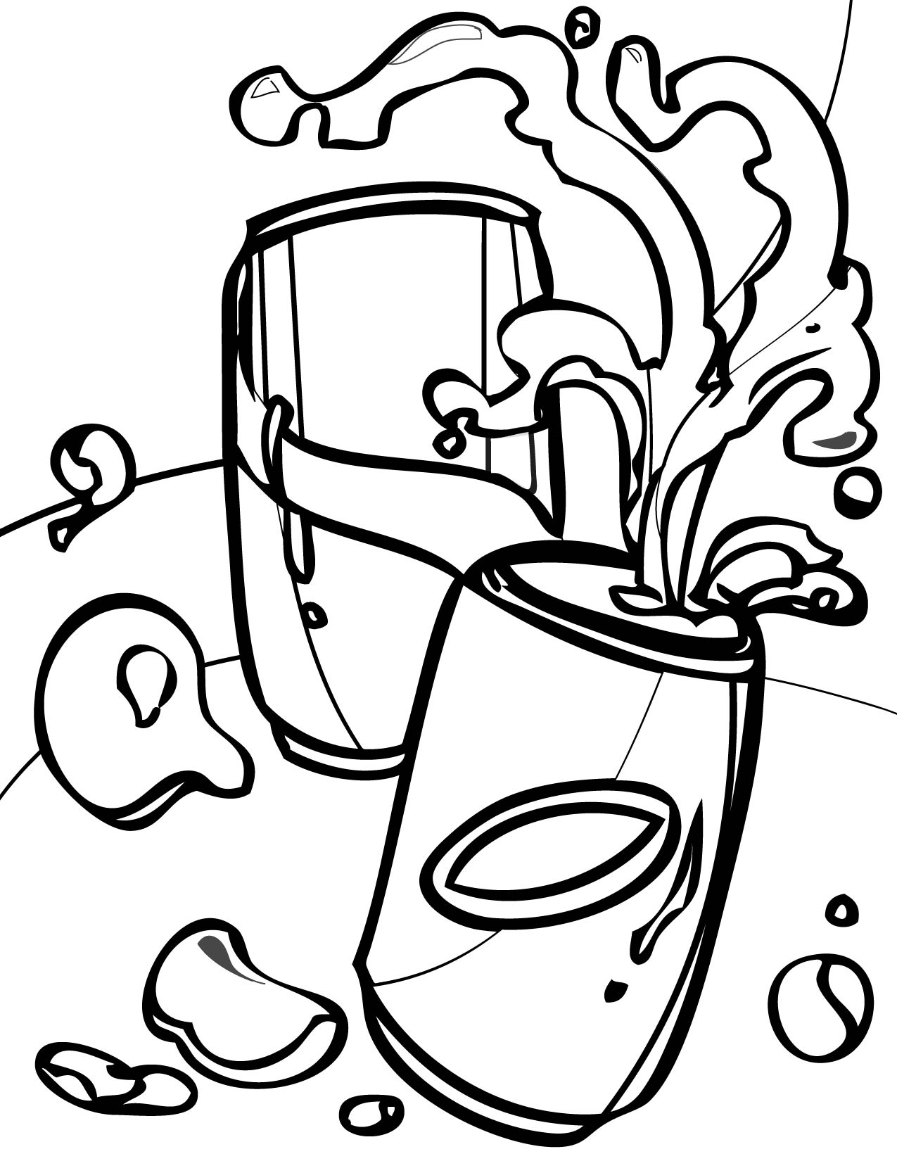 Soda Can Coloring Page At Getcolorings