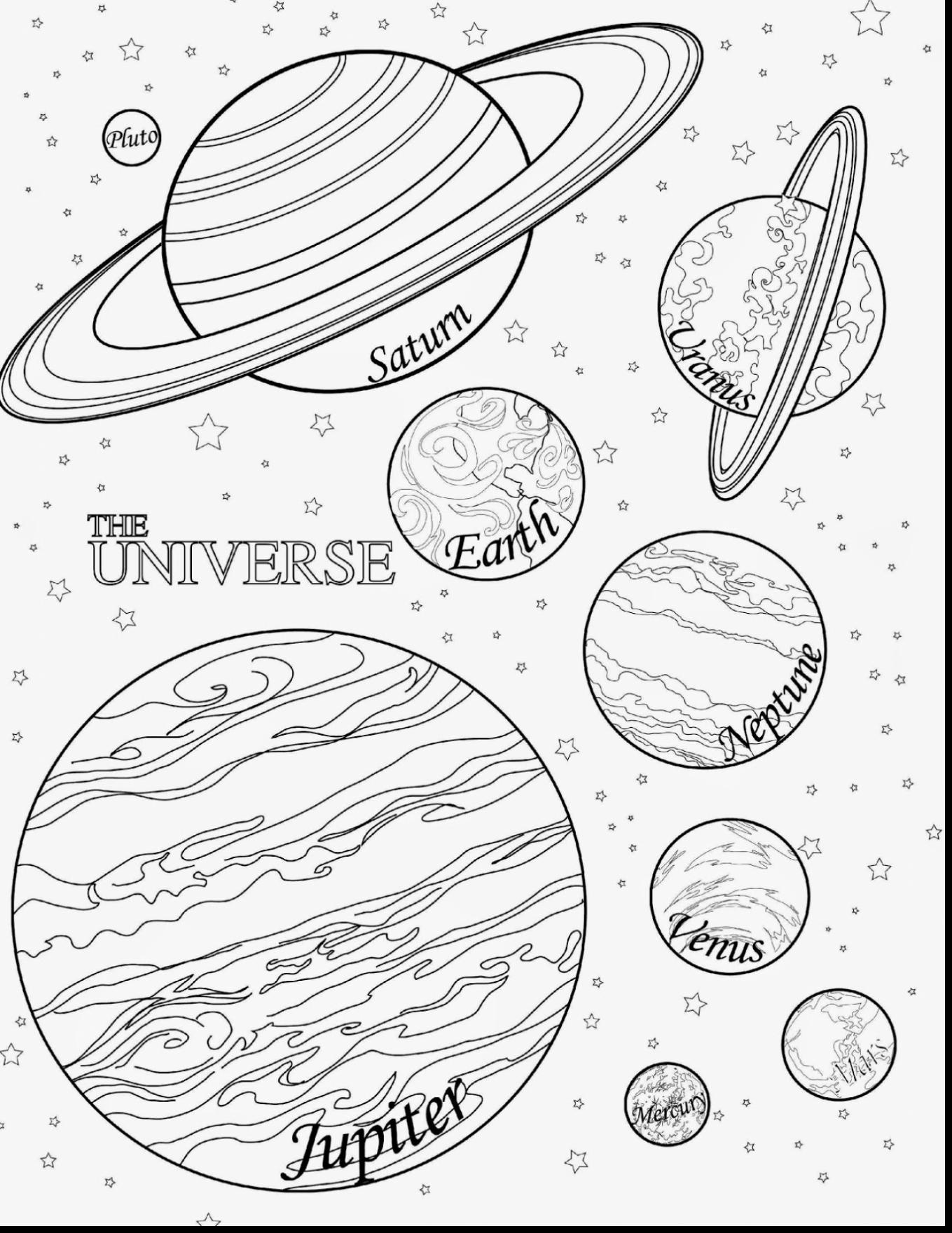 Solar System Coloring Pages At Getcolorings