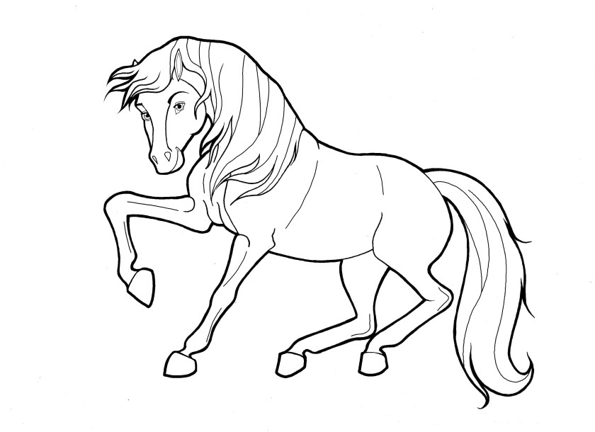 spirit riding free coloring pages at getcolorings