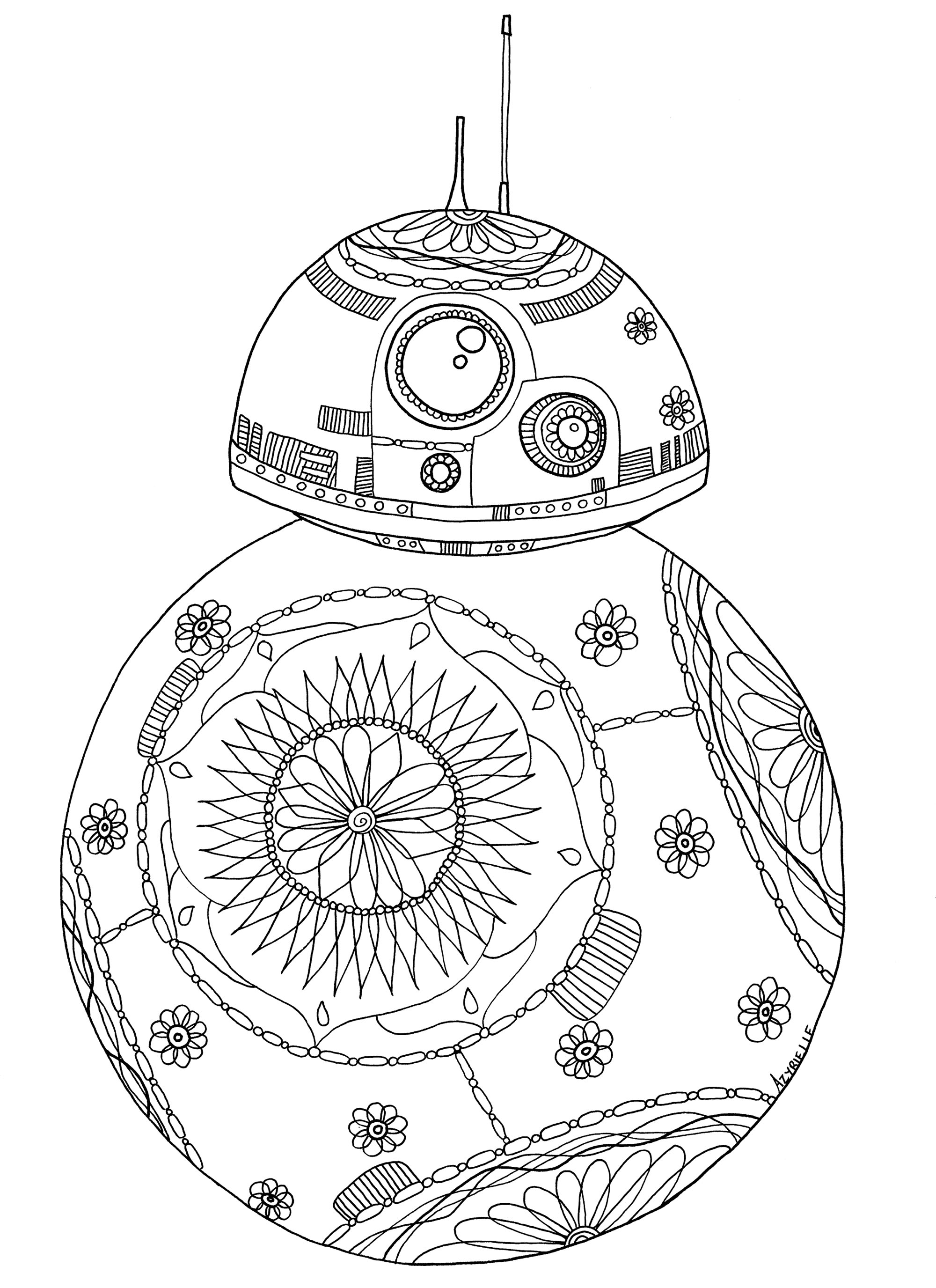 Star Wars Coloring Pages Leia At Getcolorings