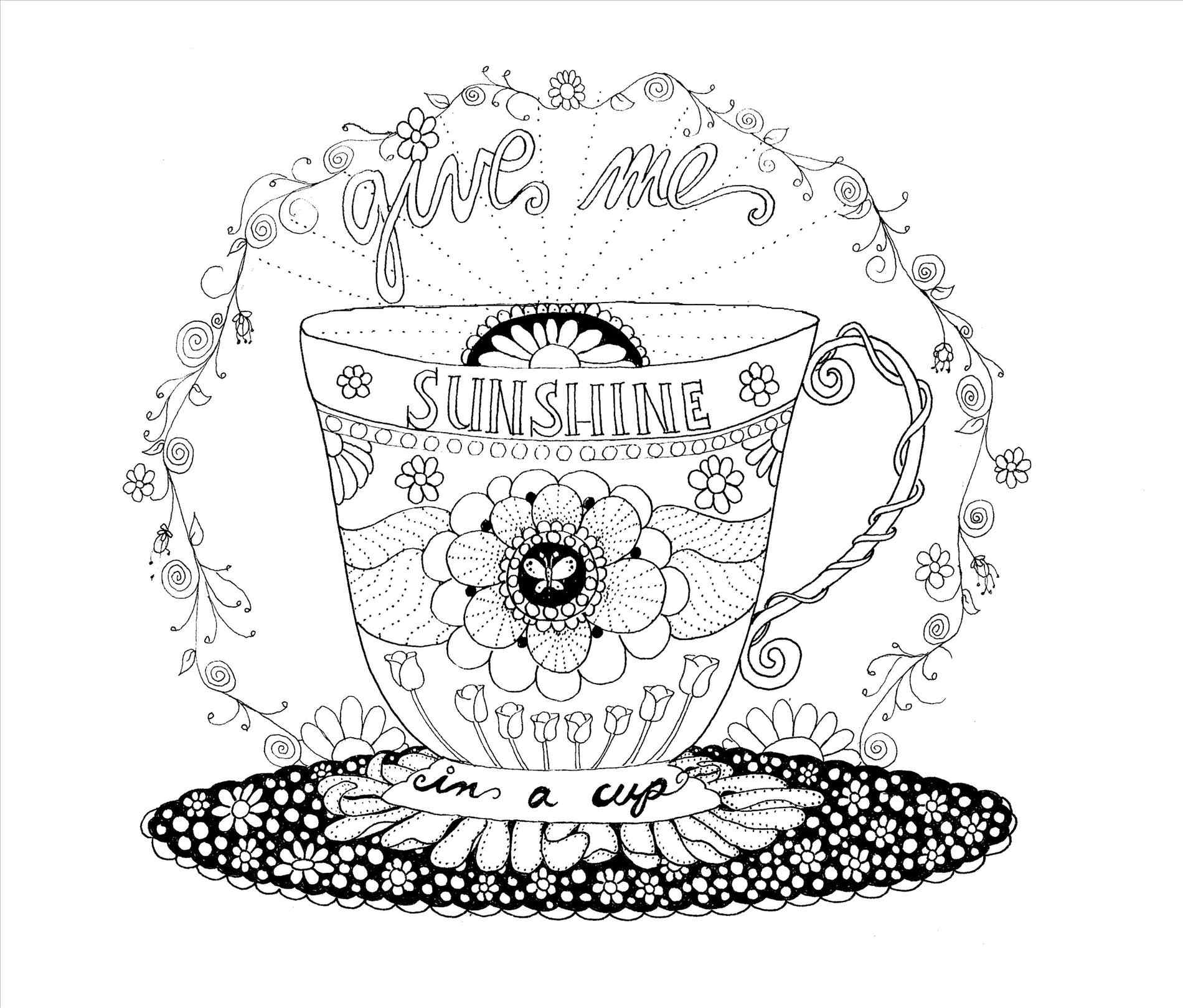 Starbucks Coloring Page At Getcolorings