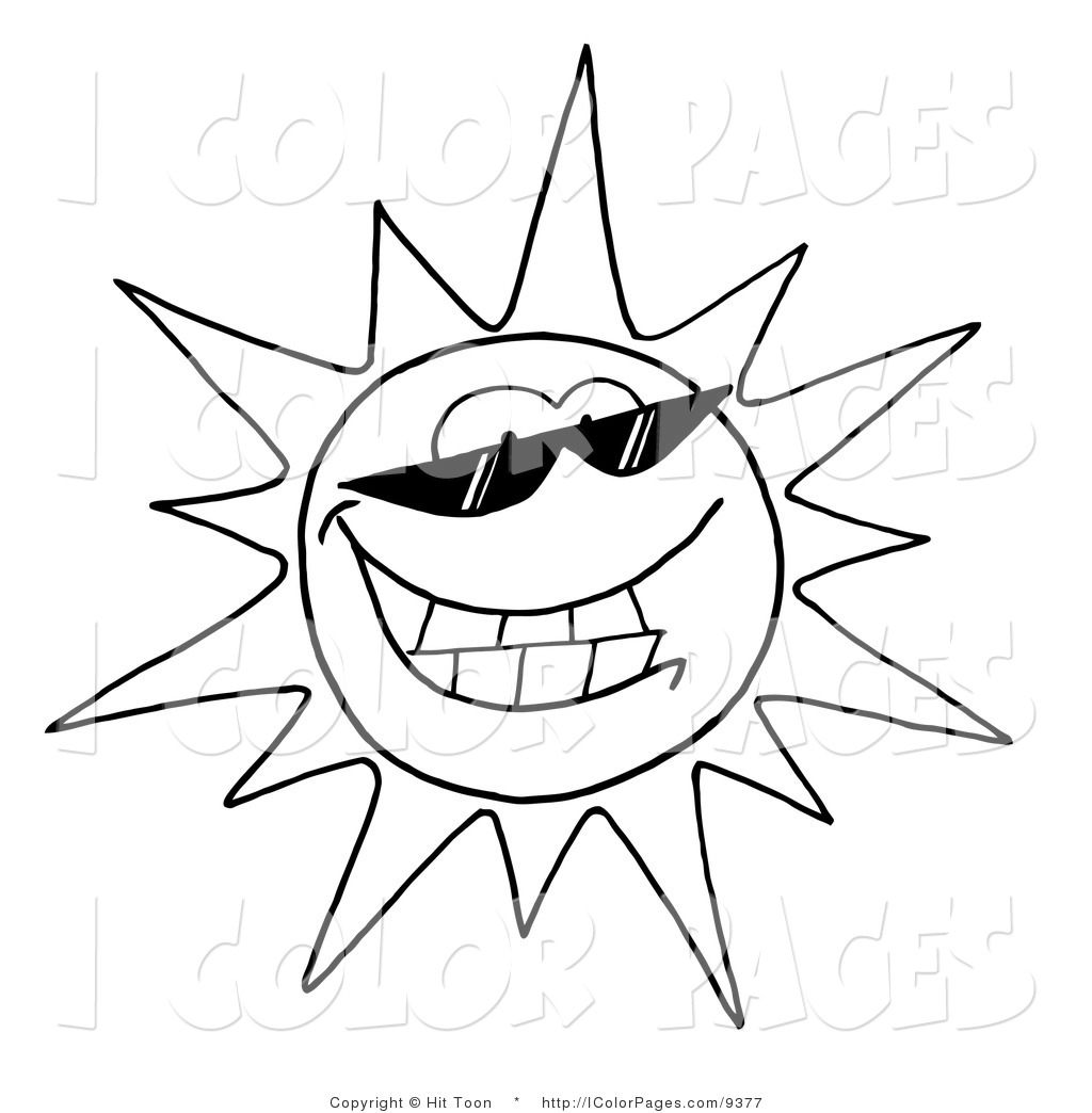 Sunny Coloring Pages At Getcolorings