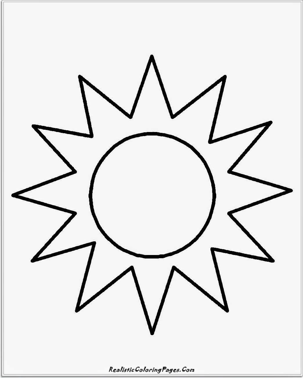 Sunscreen Coloring Pages At Getcolorings