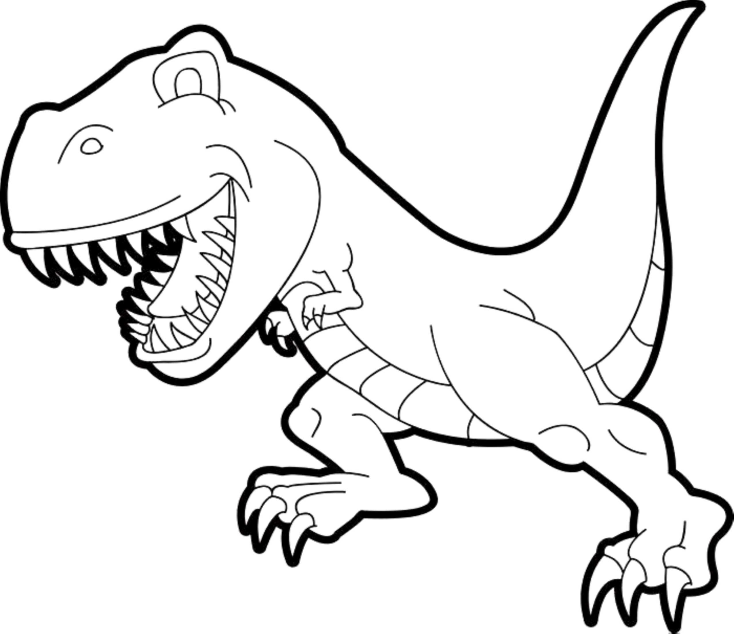 T Rex Dinosaur Coloring Pages At Getcolorings
