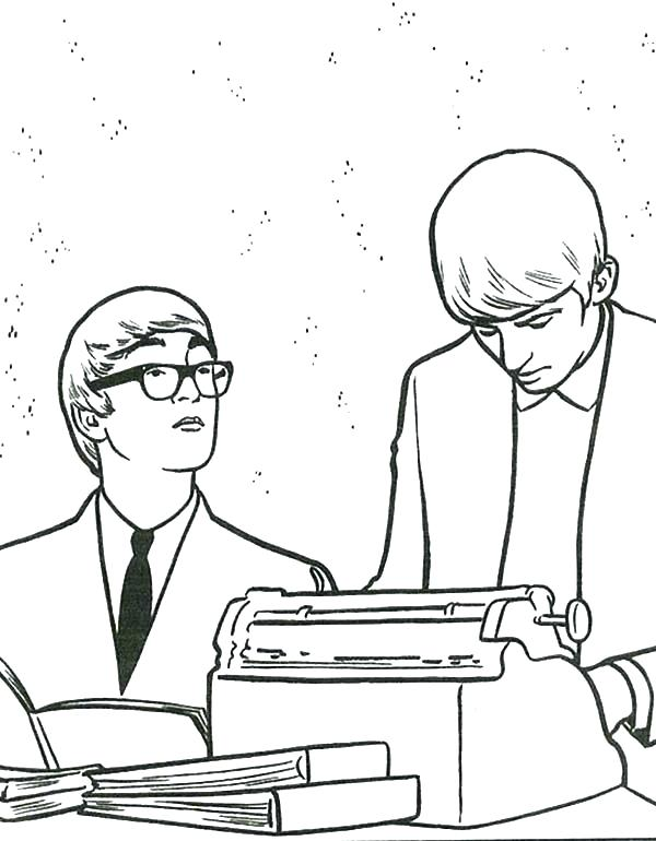 the beatles coloring pages at getcolorings  free
