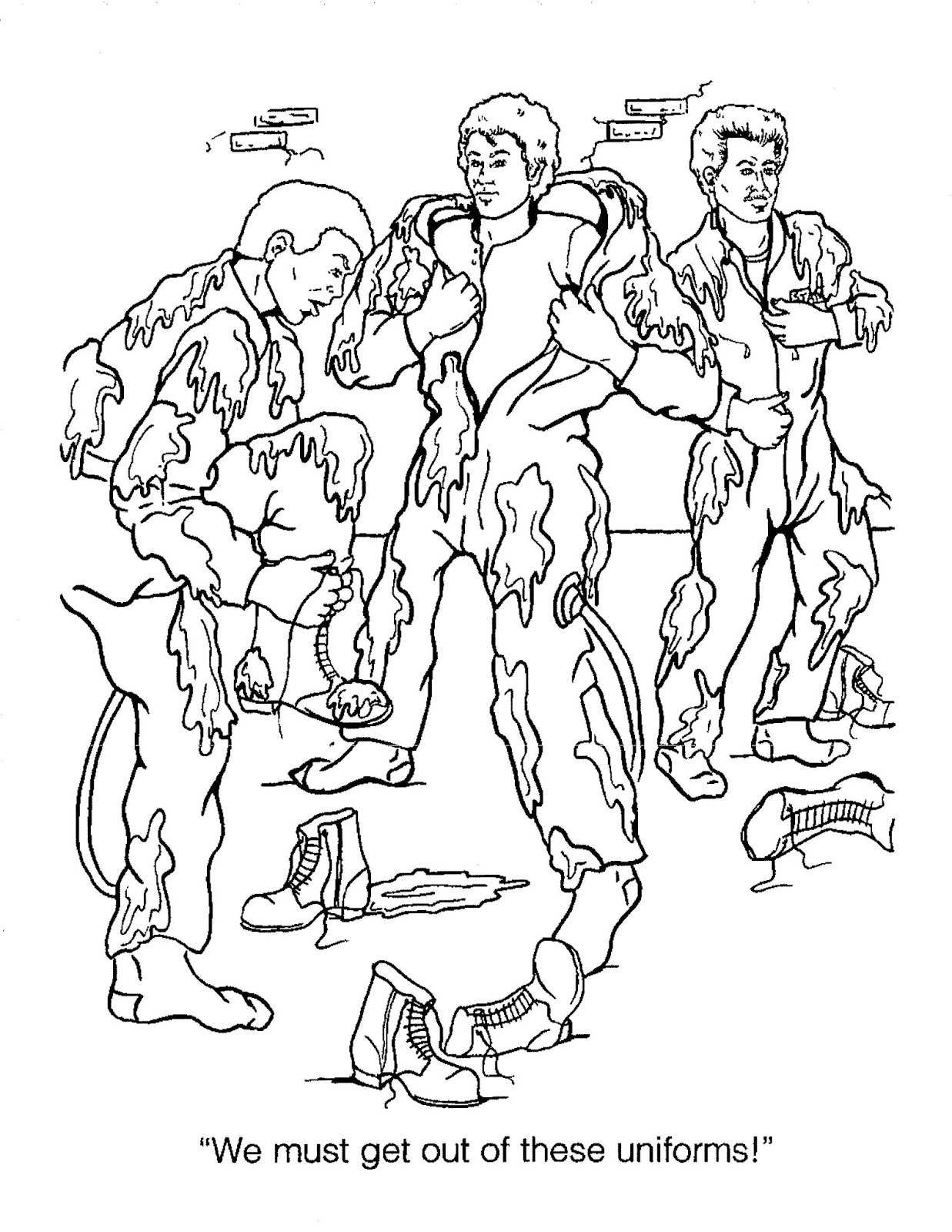 The Real Ghostbusters Coloring Pages At Getcolorings