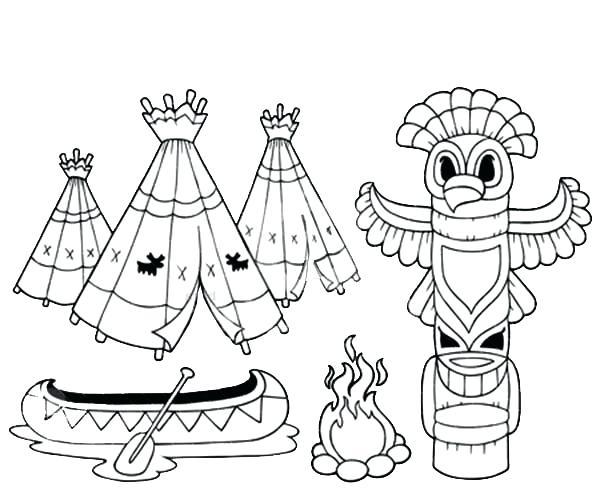 totem pole coloring pages at getcolorings  free