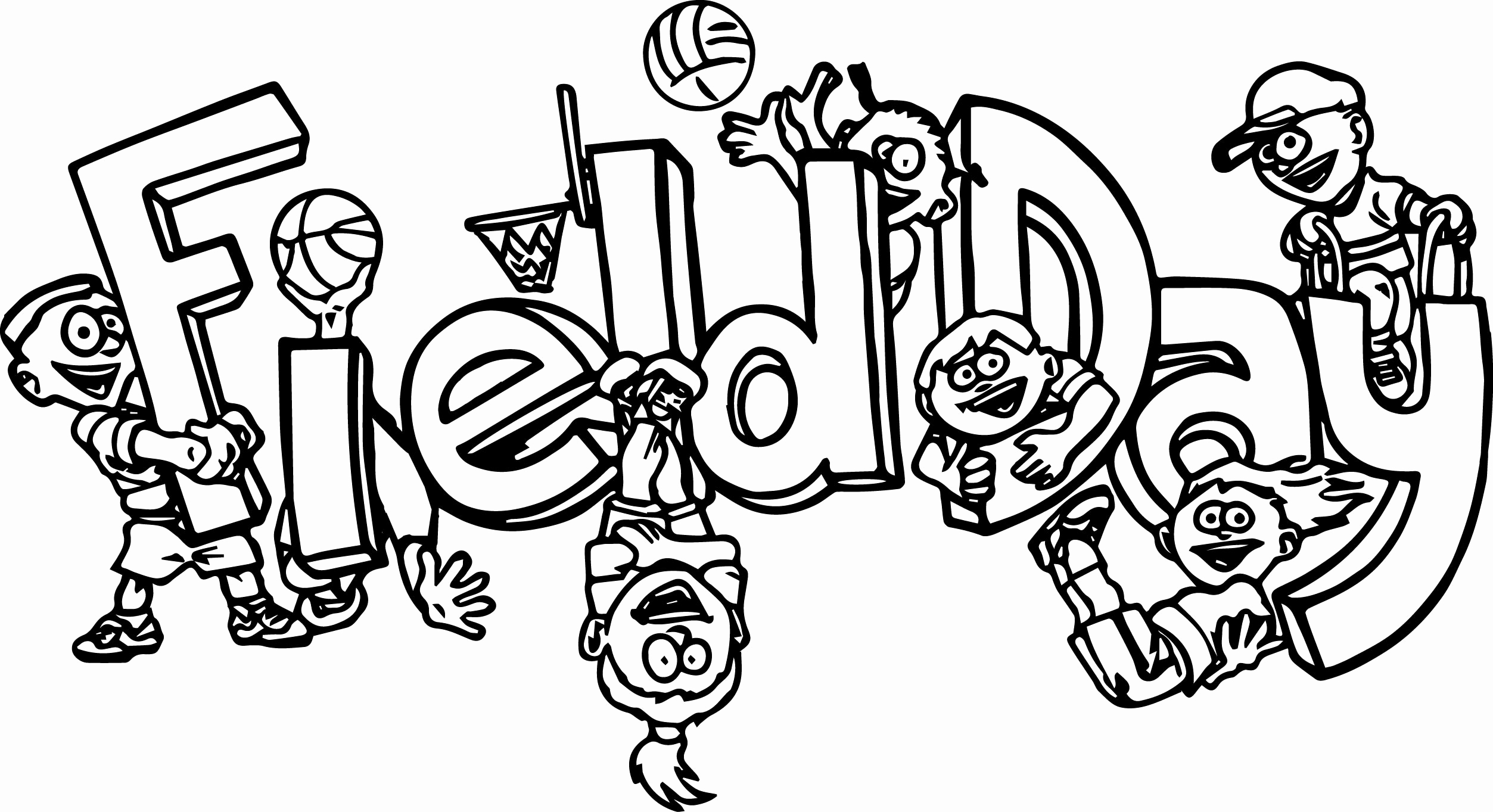 Track And Field Coloring Pages At Getcolorings