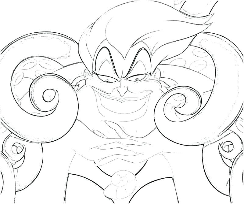 ursula coloring pages at getcolorings  free printable