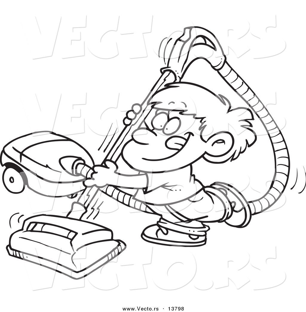Vacuum Cleaner Coloring Page At Getcolorings