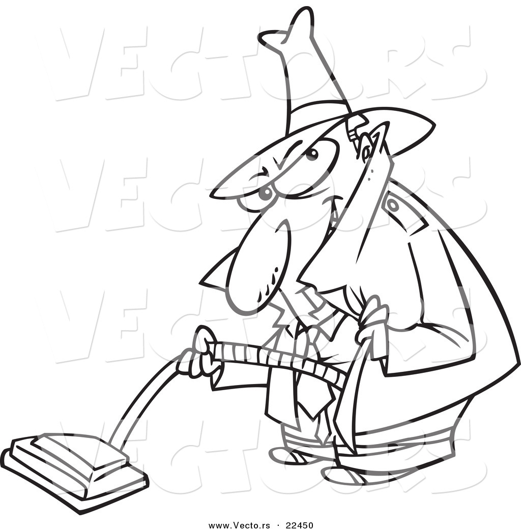 Vacuum Coloring Page At Getcolorings