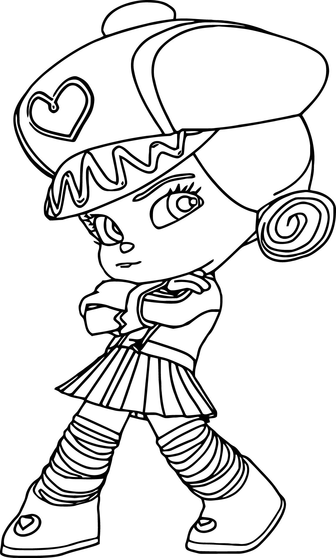 Vanellope Coloring Pages At Getcolorings