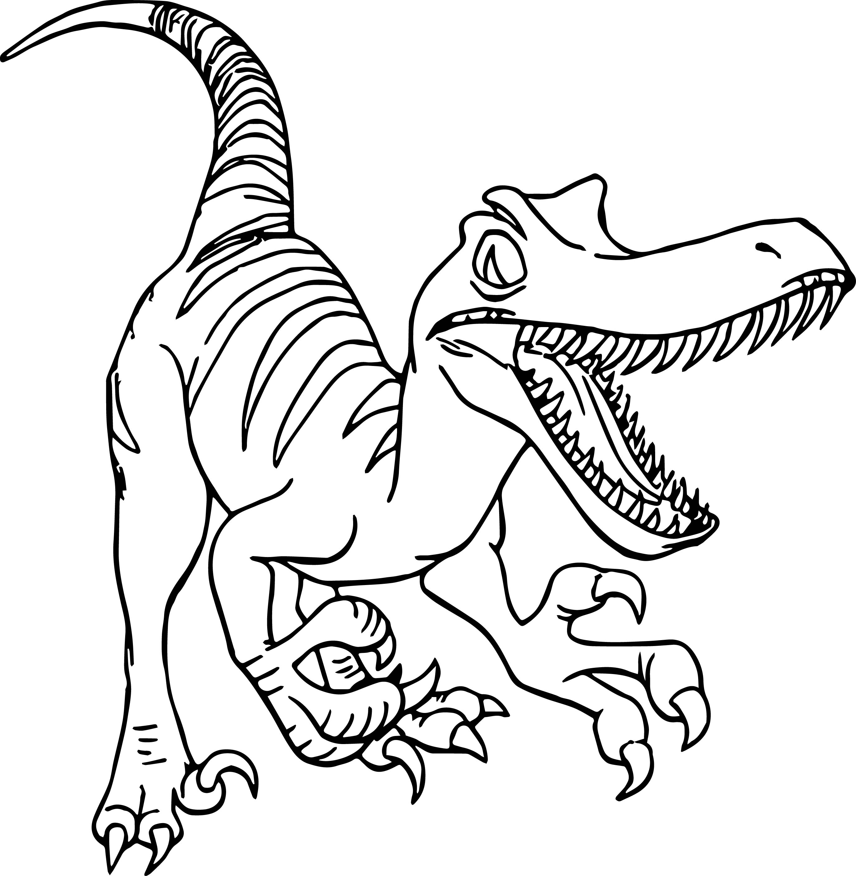 Velociraptor Coloring Pages At Getcolorings