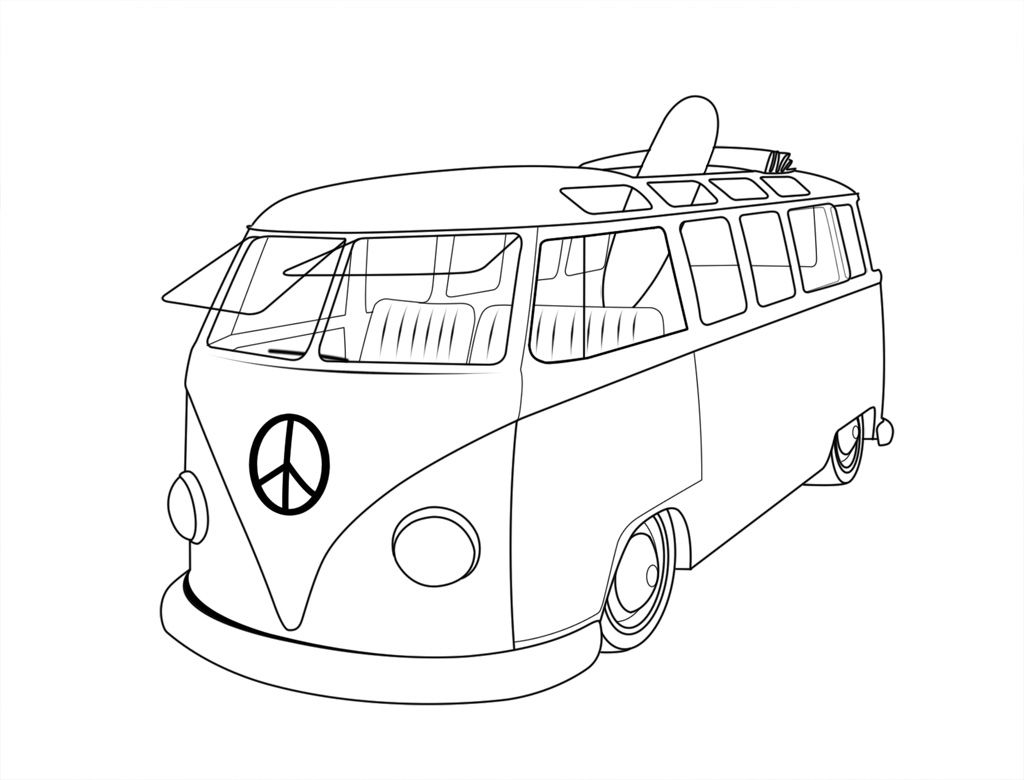 Volkswagen Beetle Coloring Pages At Getcolorings
