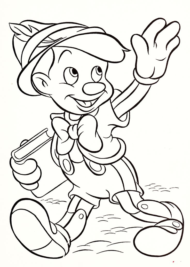 Walt Disney Characters Coloring Pages at GetColorings.com ... | free printable online coloring pages disney characters