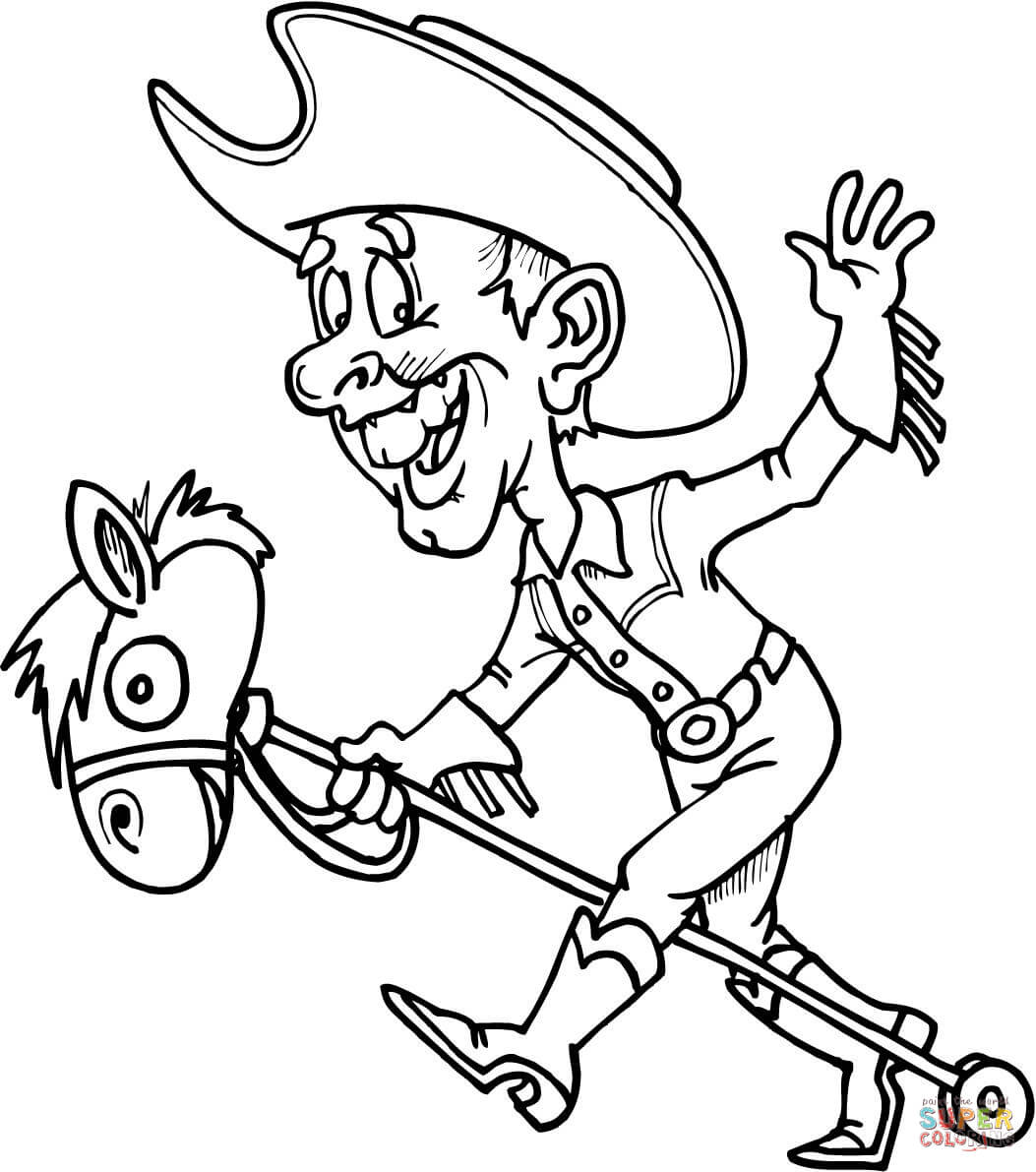 Western Theme Coloring Pages At Getcolorings