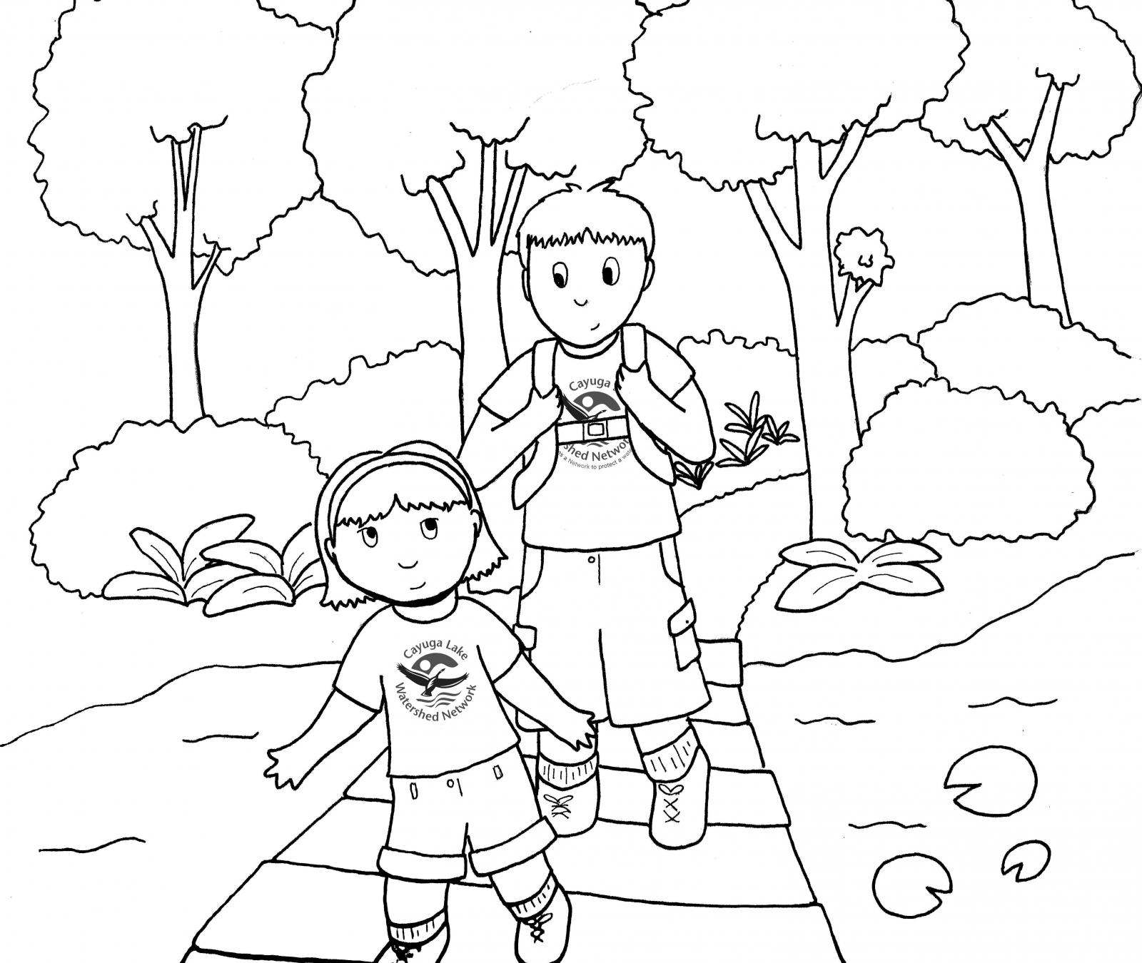Wetlands Coloring Page At Getcolorings