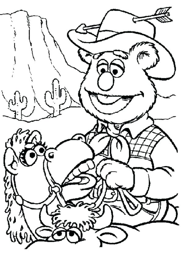 wild west coloring pages printable at getcolorings