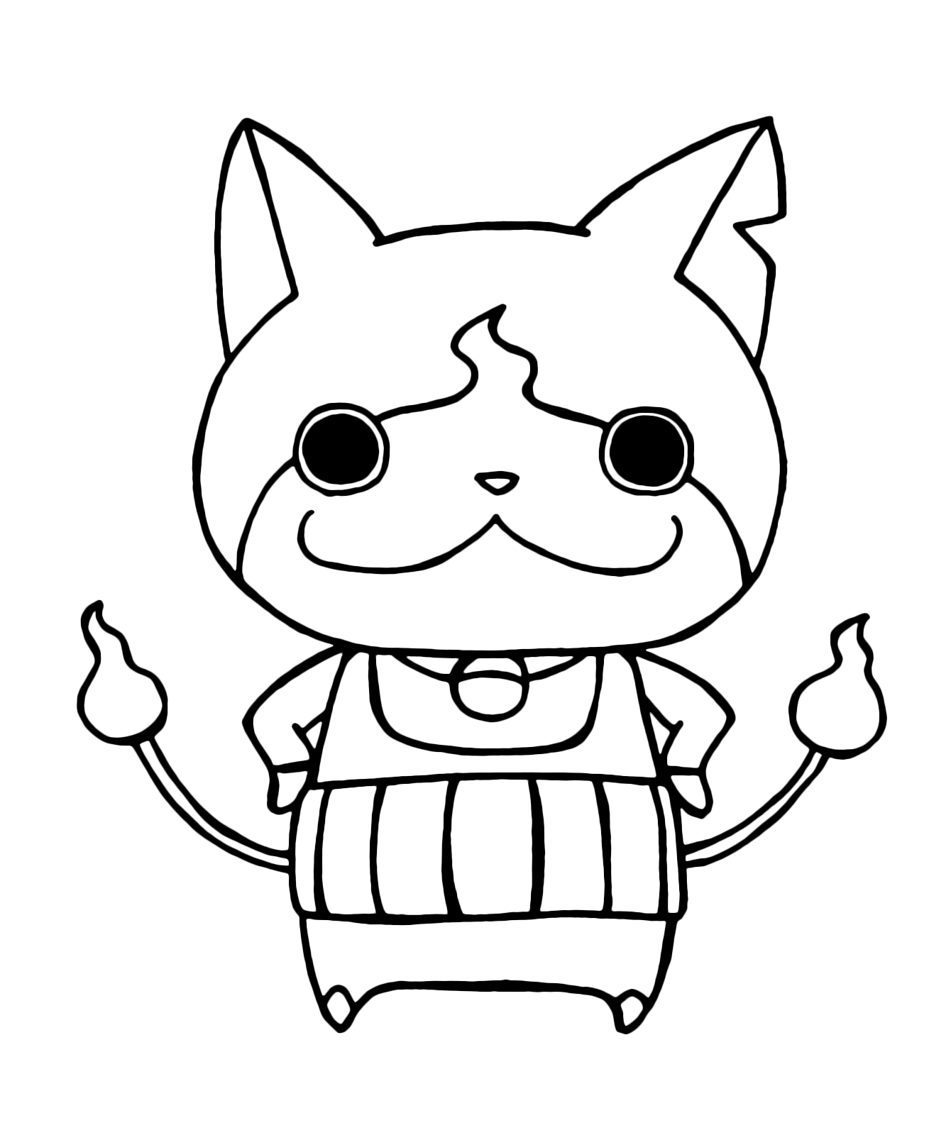 Youkai Watch Coloring Pages At Getcolorings
