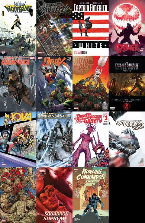 2015.12.30 Marvel Week+ (UPDATED)