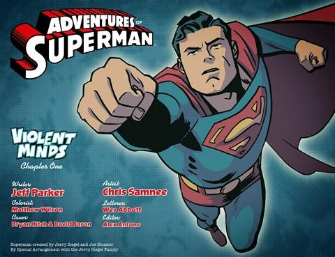 Adventures of Superman #1 – 51 (2013-2014)