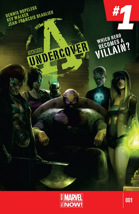 Avengers Undercover #1 – 10 (2014)
