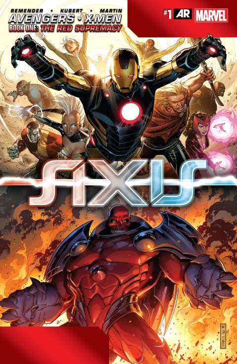 Avengers & X-Men – Axis 001 – 009 Free Download