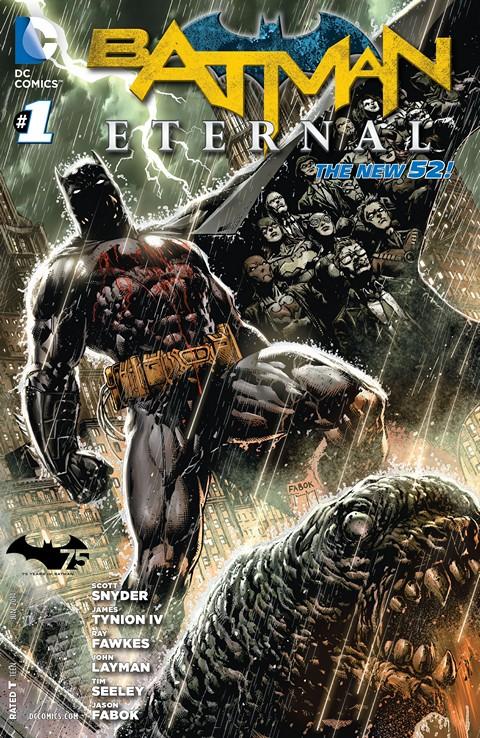 Batman Eternal 001 – 039 Free Download
