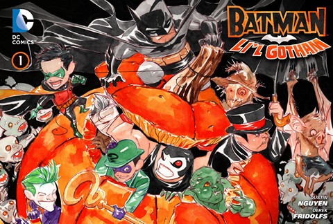 Batman – Li'l Gotham 001 – 024 Free Download