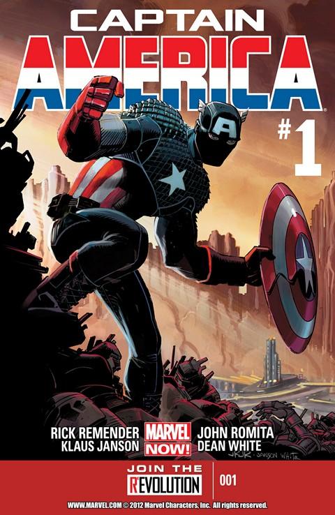 Captain America Vol. 7 #1 – 25 + TPBs (2013-2014)