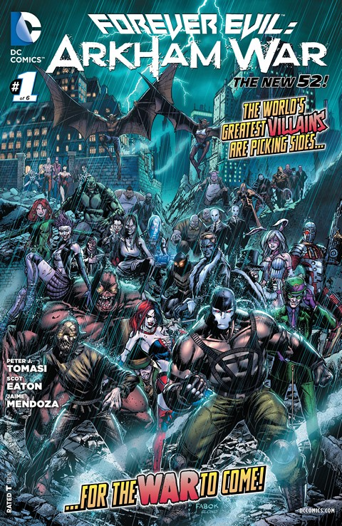 Forever Evil – Arkham War 001-006 Free Download