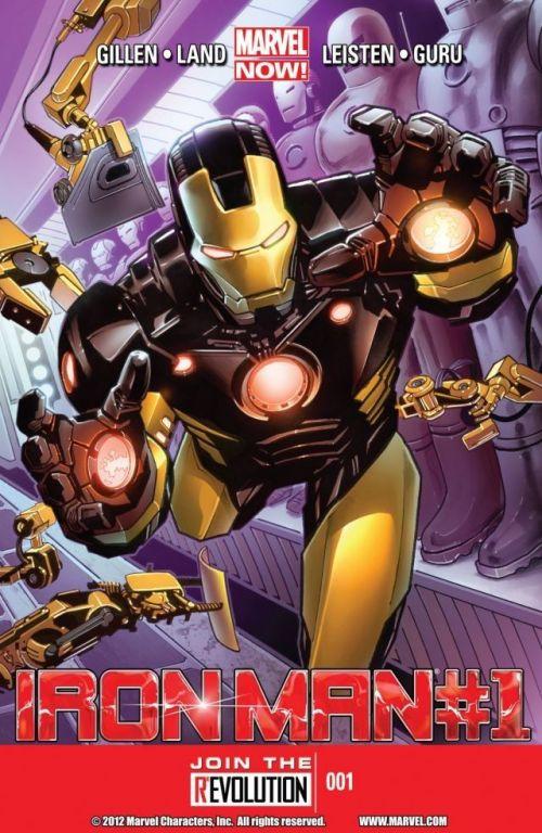 Iron Man 001 – 028 Free Download