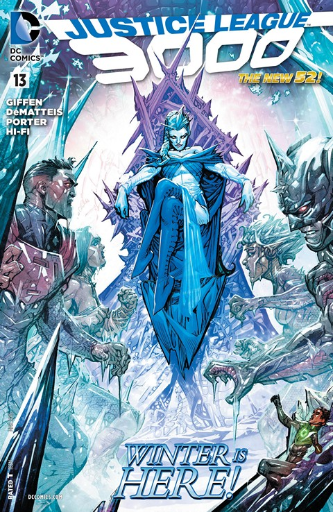 Justice League 3000 #013 Free Download
