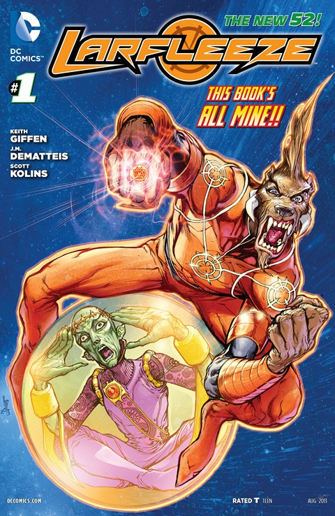 Larfleeze 001-012 Free Download