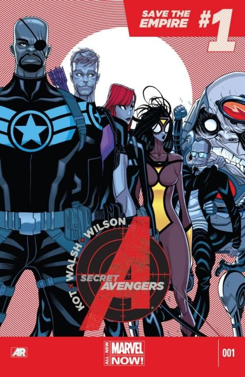 Secret Avengers 001 – 011 Free Download