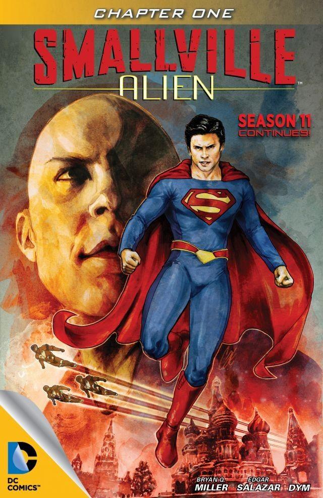 Smallville – Alien #1 – 14 (2013-2014)