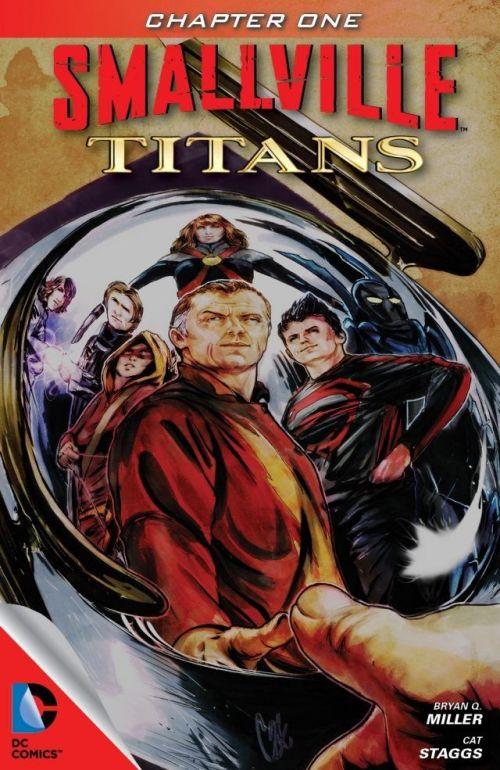 Smallville – Titans #1 – 4 (2013)