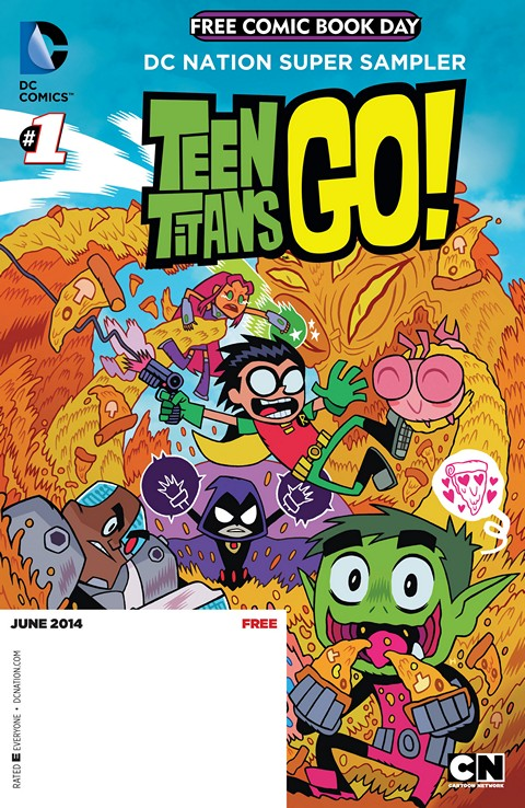 Teen Titans Go! 001-014 Free Download