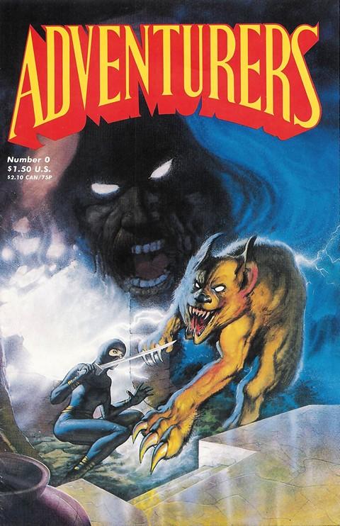 Adventurers Books #I – III + Extras (1986-1990)