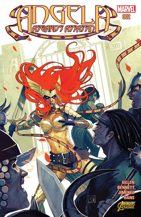 Angela – Asgard's Assassin #001-002 Free Download
